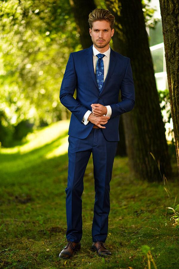 Manzetti kék öltöny 3530-08