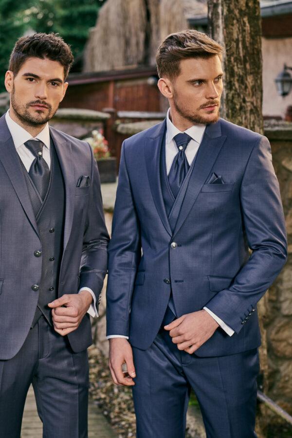 Manzetti fagyalkék esküvői öltöny 9437-14 (jobb oldal)